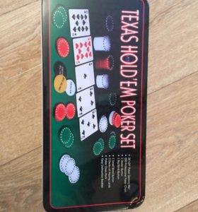 Настольные игры, покерный набор