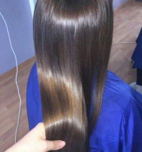 Ботокс и полировка волос
