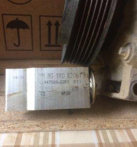 Компрессор кондиционера с клапаном на пассат В 6