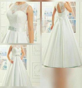 Свадебное платье р42
