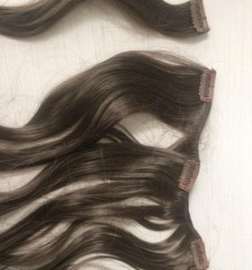 Волосы на заколках искусственные