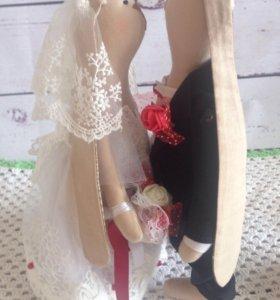 Свадебные зайцы