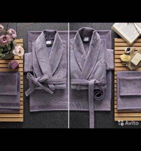 Набор банных халатов