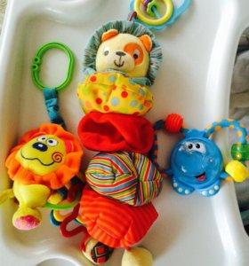 Развивающие мягкие игрушки