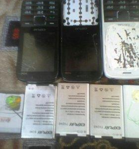 Продаю телефоны с аккумуляторами
