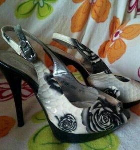 Туфли и басаножки