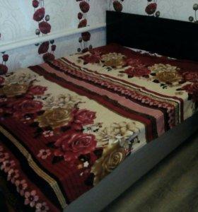 Двухспальная кровать...