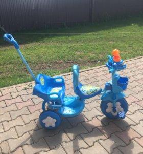Велосипед новый для двоих