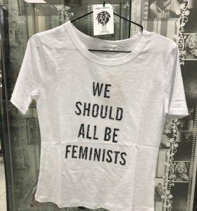 Футболка we should all be feminists