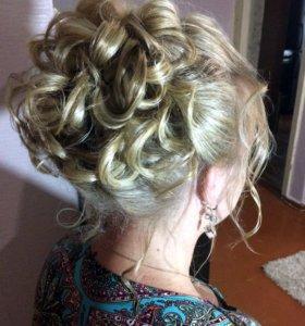 Прически , укладка, плетение кос