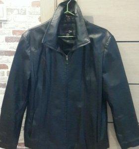 Куртка кожаная женская, р. 48-50