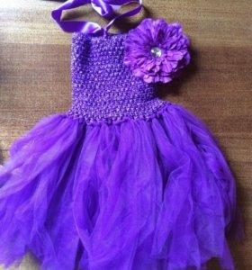 Платье на 74-86