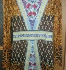 Платье WAGGON, размер 42-44,очень стильное