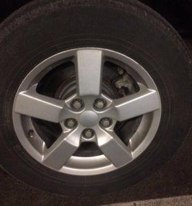 Оригинал Мицубиси колёс комплект