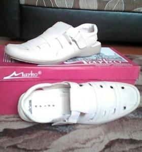 Новые мужские туфли Marko