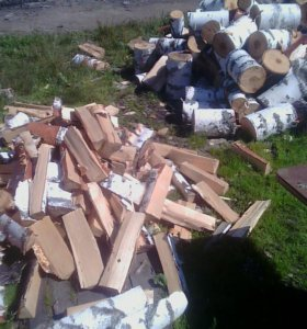 Разколю дрова
