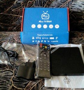 Телевизионная приставка-смарт TV Box