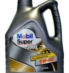 Масло моторное Mobil 4w40 4л