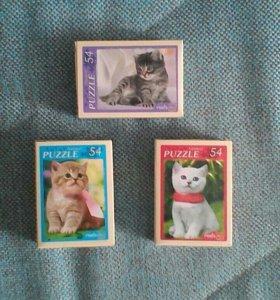 Пазлы котят