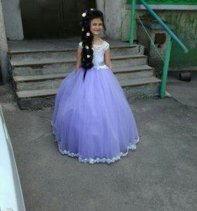 Платье (в пол) на выпускной