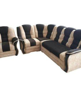 """0270 диван угловой """"Новелла"""" с креслом"""