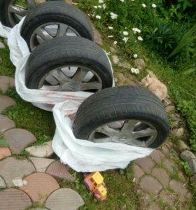 Шины с дисками Nissan