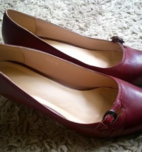 Туфли женские из натуральной кожи