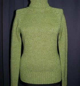 Новая шерстяная водолазка свитер