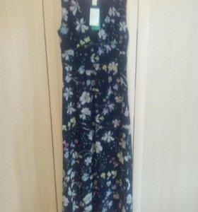 Новое Платье в пол - длинное 44 размер