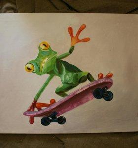 Картины Лягушки
