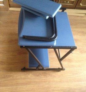 Стол компьютерный на колесиках