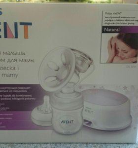 "Электронный молокоотсос Philips AVENT ""Natural"""
