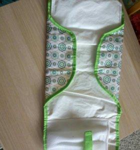 Пеленальник- сумочка в поликлинику