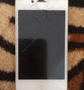 Айфон 4s 8Гб