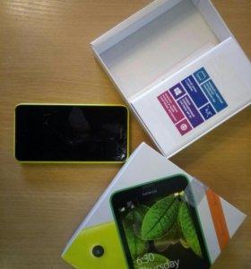 Терефон NOKIA Lumia на запчасти