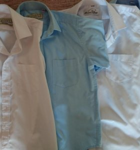 Рубашки на мальчика, рост 128