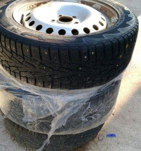 Штампованные зимние шины