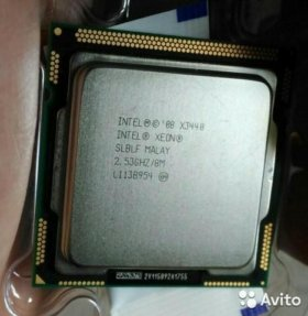 Процессор Intel Xeon X3440