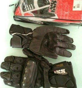 Перчатки мотоциклетные мотоперчатки кожаные