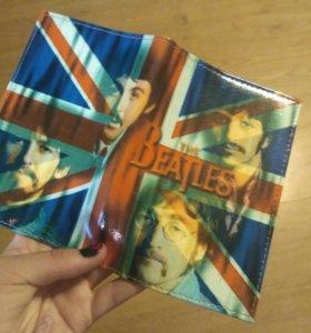 Обложка на паспорт the beatles