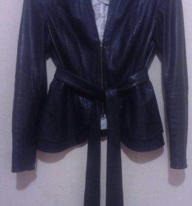 Кожаный пиджак - куртка