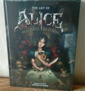 Артбук Art of Alice Madness Returns (в пленке)