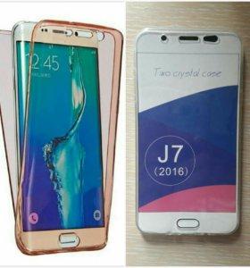 Чехол для Samsung Galaxy J7 2016 (новый)