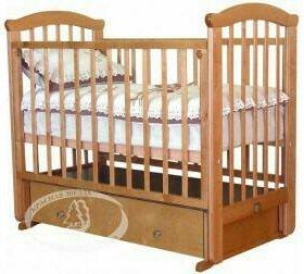 Детская кроватка маятник Можга + матрас