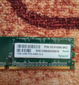 DDR2 1gb оперативная память