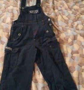 zeplin.штаны с лямками.