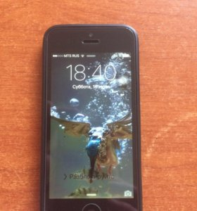 Apple iPhone 5 16 Gb Black б/у