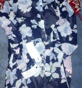 Рубашка полупрозрачная