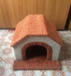 Домик для собачки,новый