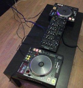 Продаётся DJ- микшерный пульт